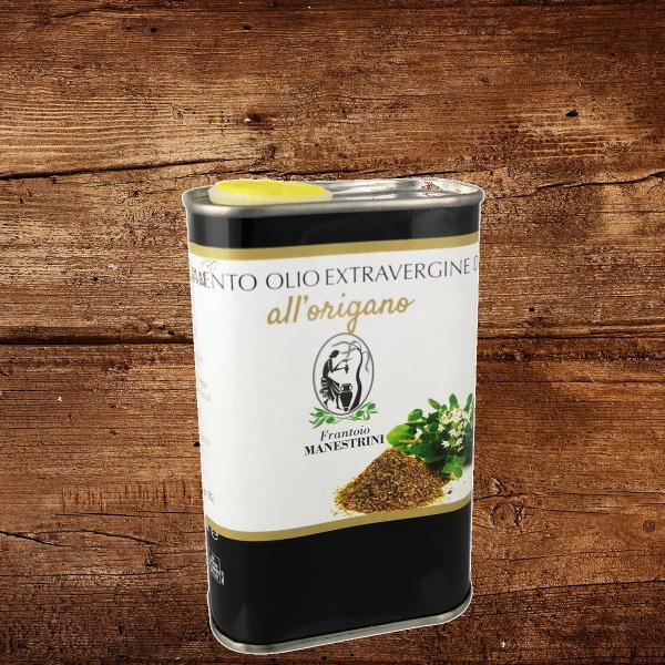 """MANESTRINI Olivenöl extra vergine """"oregano"""" 0,25l"""