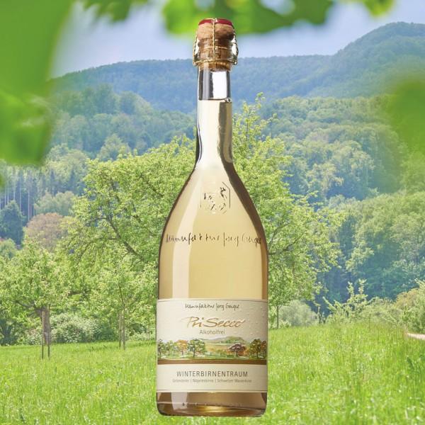 """PriSecco Saison """"Winterbirnentraum"""" alkoholfrei 0,75l"""