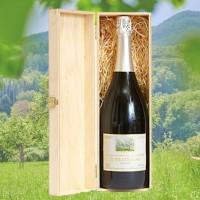 Birnenschaumwein CBB trocken 0,75l - Holzkiste