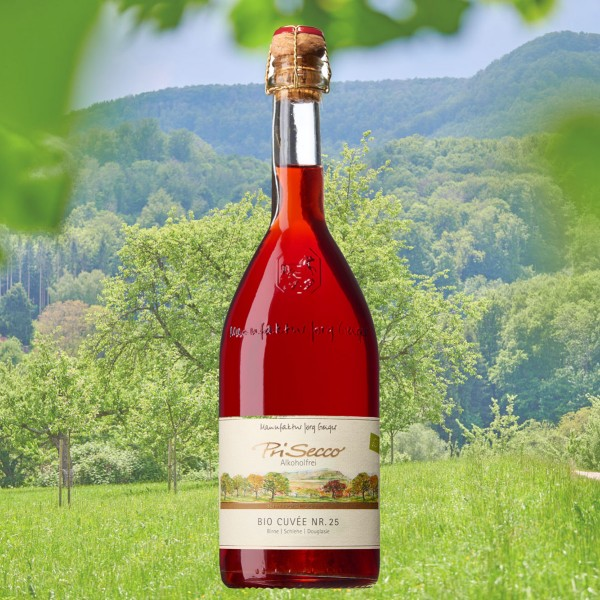 "PriSecco ""Bio Cuvée Nr.25"" alkoholfrei 0,75l DE-ÖKO-006"