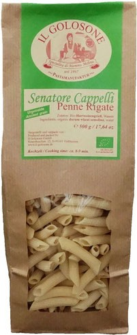 "Bio Pasta Penne Rigate ""Senatore Cappelli"" 500 g"