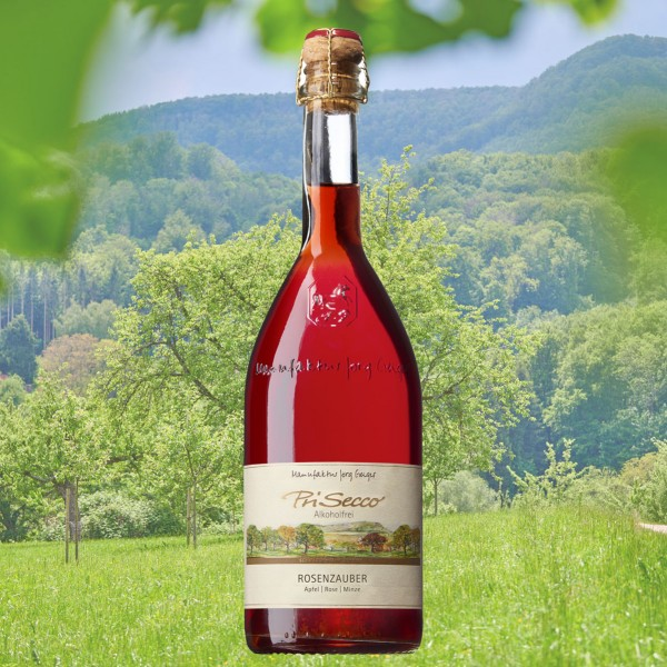 "PriSecco Klassik ""Rosenzauber"" alkoholfrei 0,75l"