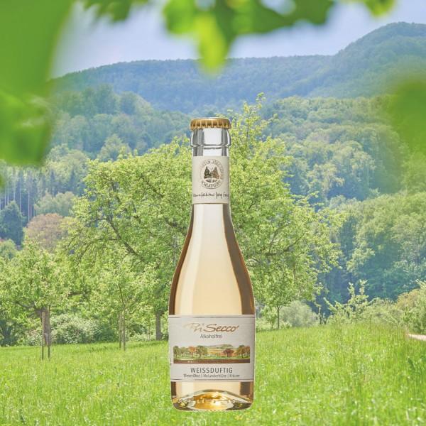"PriSecco Klassik ""Weißduftig"" alkoholfrei 0,2l"