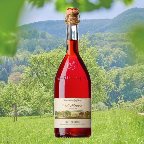 "PriSecco Klassik ""Rotfruchtig"" alkoholfrei"