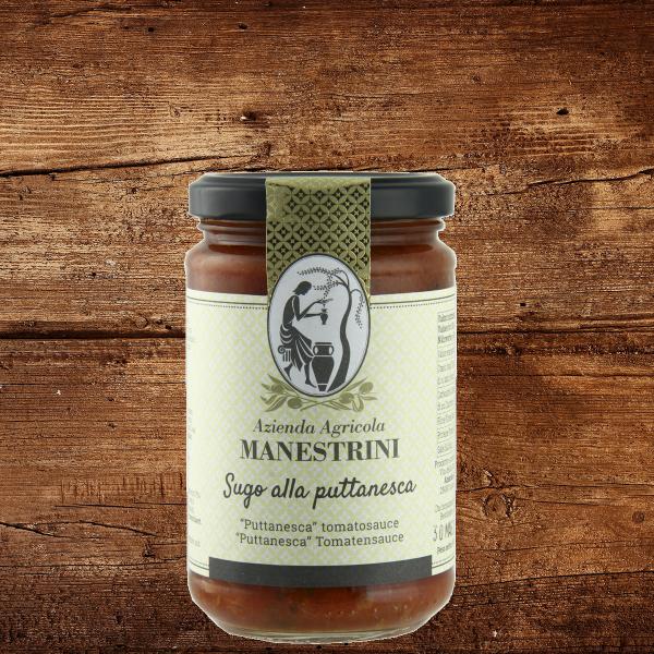Sugo alla Puttanesca - würzige Tomatensauce mit Sardellen und Knoblauch