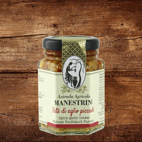 Patè di aglio piccante (Knoblauch scharf)